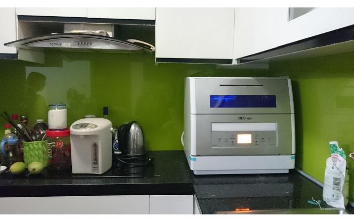 Lựa chọn máy rửa bát phù hợp với không gian bếp
