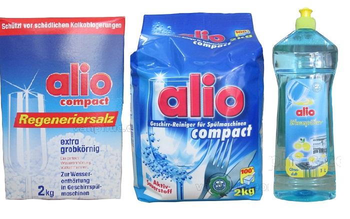Bộ chất tẩy rửa Alio dùng cho máy rửa bát