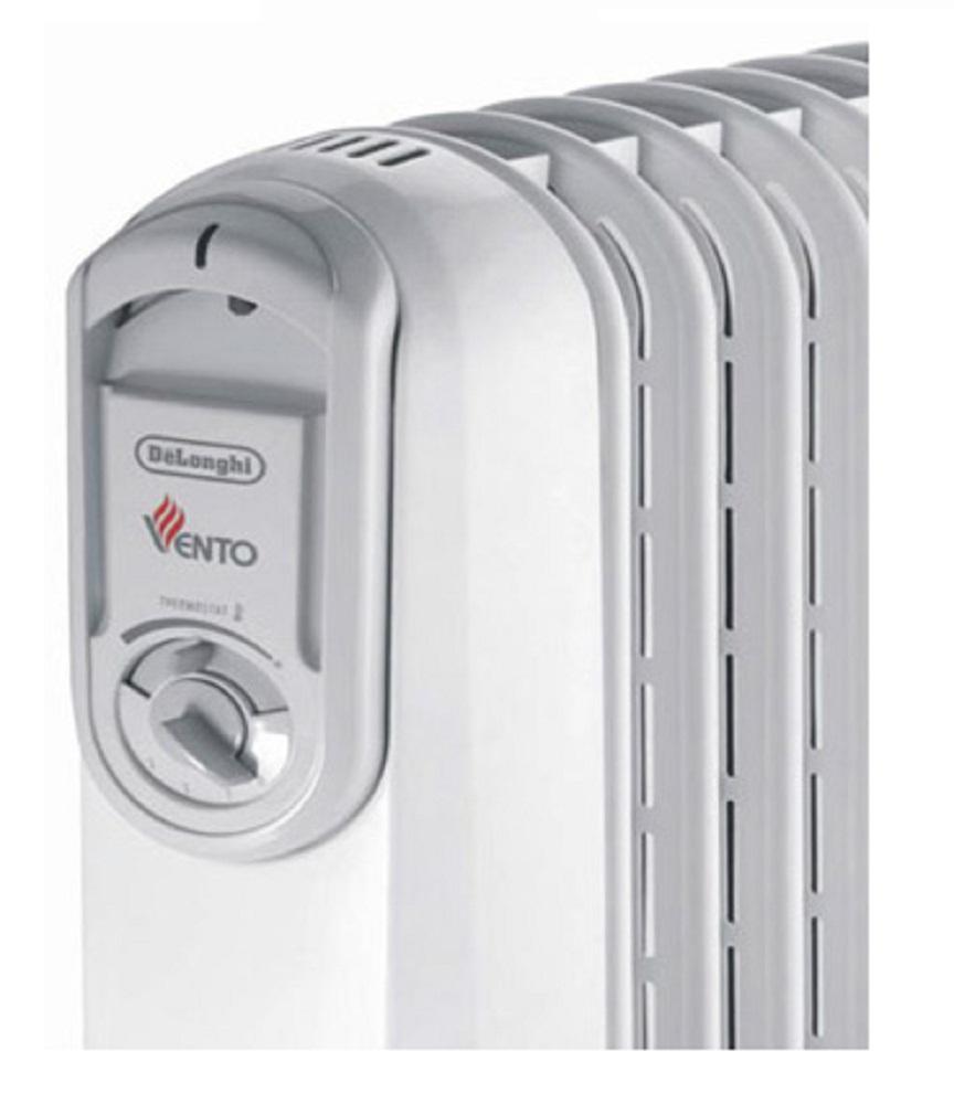 Nút điều khiển của máy sưởi dầu Delonghi Vento V551225