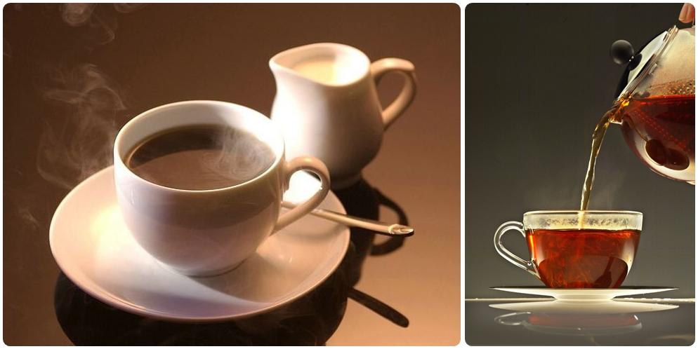Nước nóng pha cafe hay pha trà