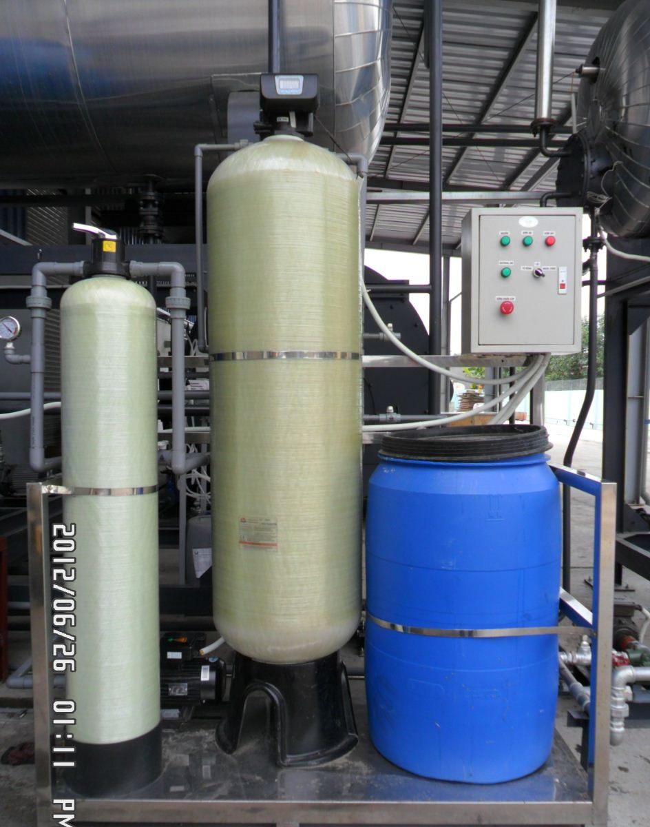 Lắp đặt hệ thống làm mềm nước cấp lò hơi