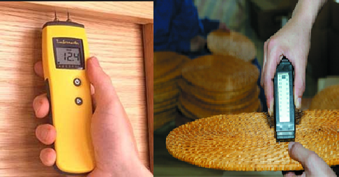 Kiểm tra độ ẩm sản phẩm trước khi xuất xưởng