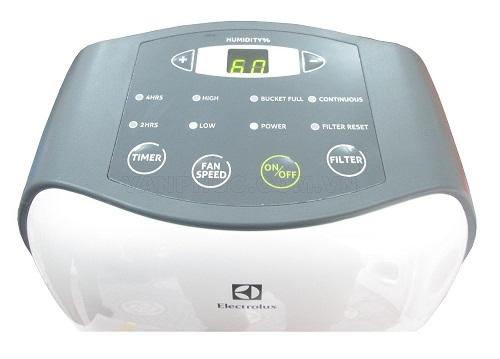 Máy hút ẩm Electrolux EDH16SDAW-Bảng điều khiển