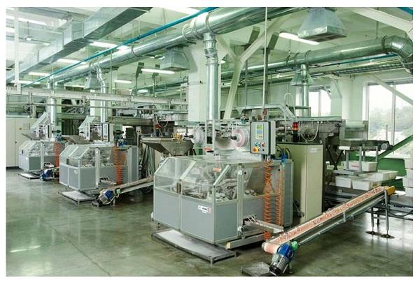 Máy hút ẩm công nghiệp Harison HD192PS trong sản xuất