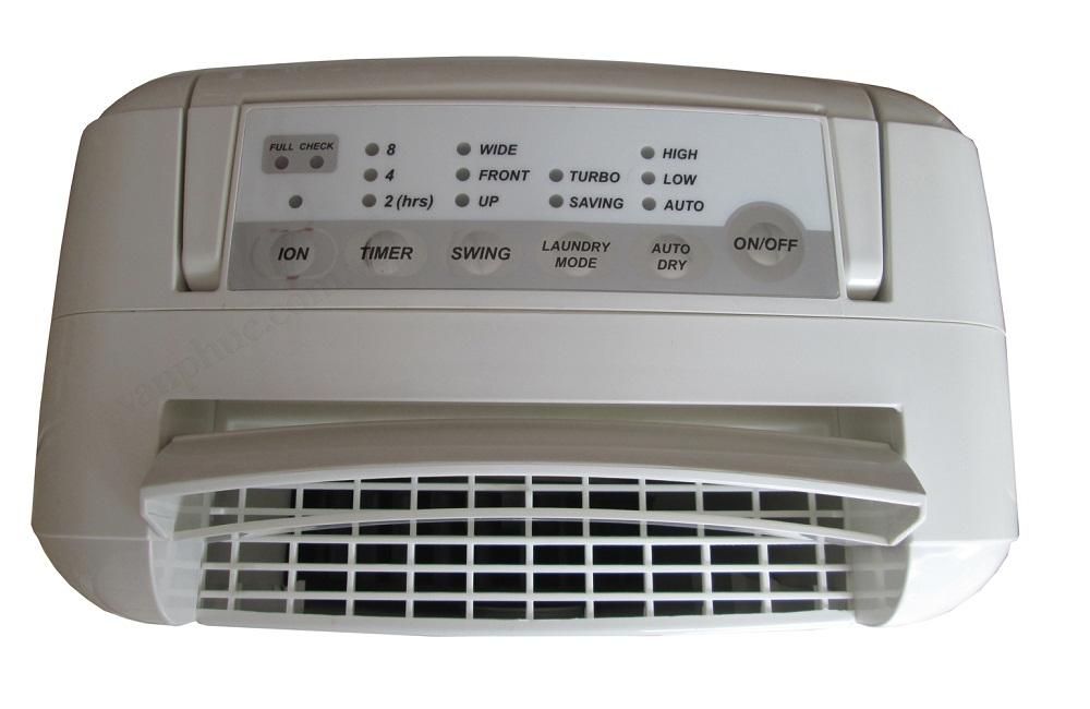 Bảng điều khiển của máy hút ẩm Edison ED-7R