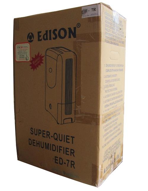 Quy cách đóng gói máy hút ẩm Edison ED-7R