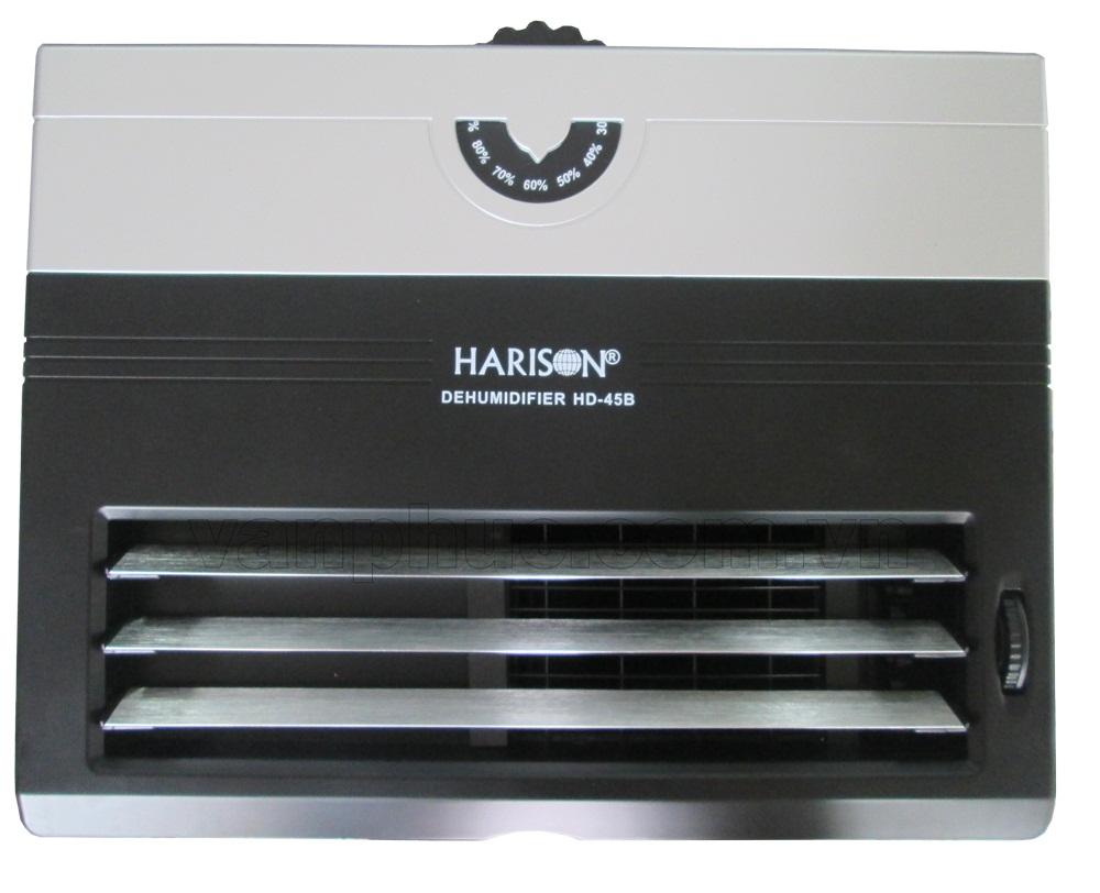 Nút điều khiển và cửa thổi gió của máy hút ẩm Harison HD-45B