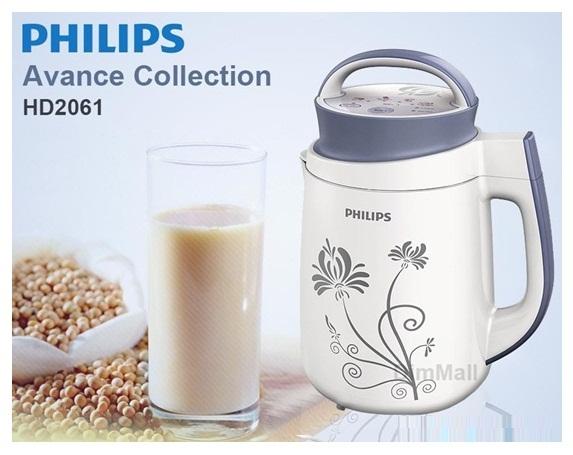 Công dụng chủ yếu của máy làm sữa đậu nành Philips HD2061