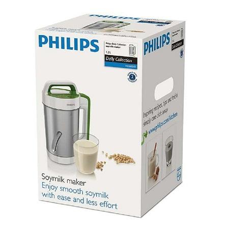Quy cách đóng gói máy làm sữa đậu nành Philips HD2052
