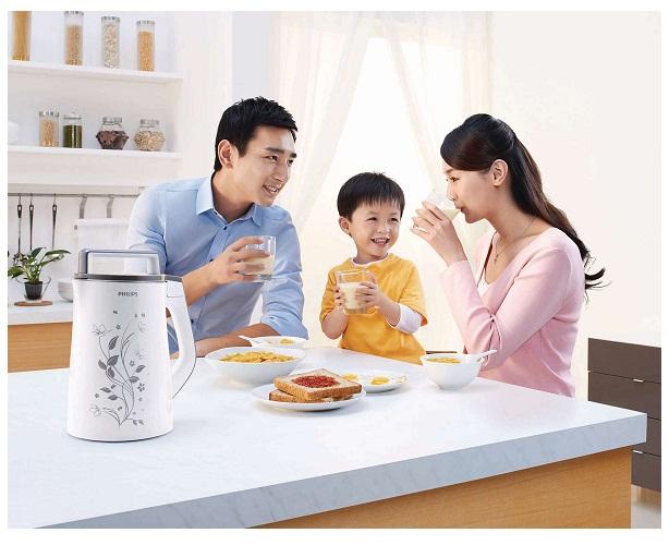 Máy làm sữa đậu nành Philips HD2072-Người mang dinh dưỡng cho gia đình bạn