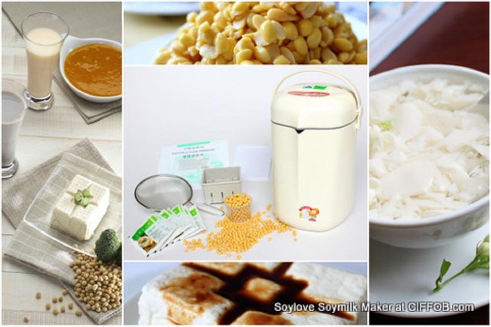 Công dụng của máy làm sữa đậu nành Soylove IOM-201A