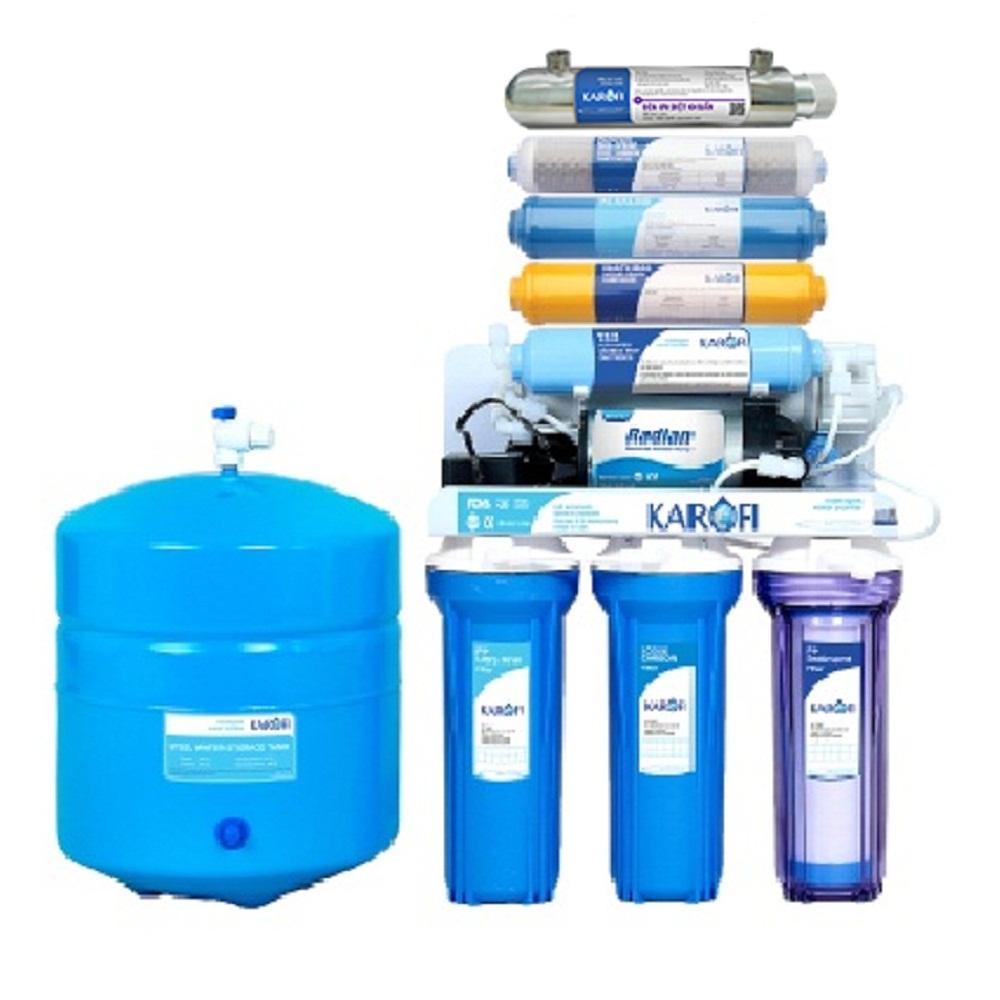 máy lọc nước karofi iro 8 cấp iro 1.1