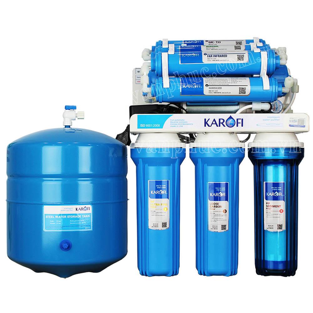 Máy lọc nước Karofi KT80 - 8 lõi lọc không tủ