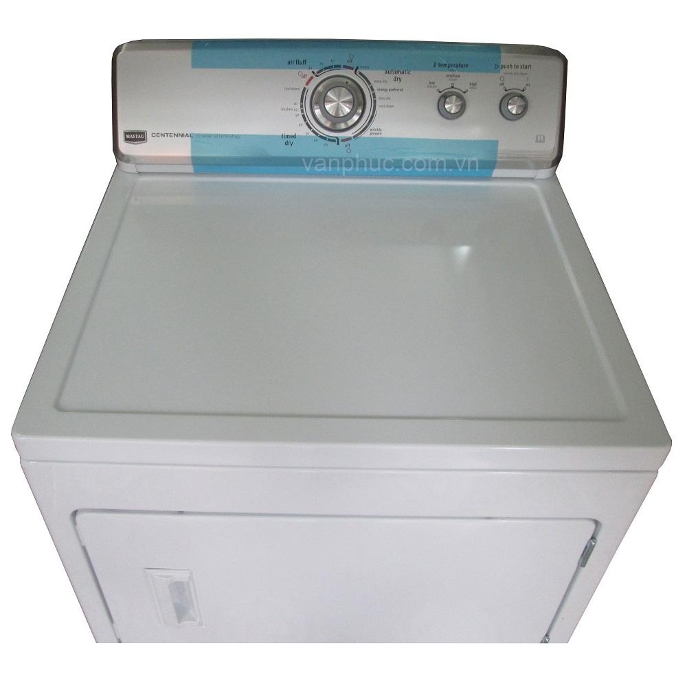 Bảng điều khiển của máy sấy quần áo Maytag 3LMEDC300YW