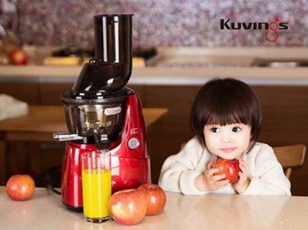 Máy ép trái cây Kuvings NS621R - Nhập khẩu nguyên chiếc từ Hàn Quốc