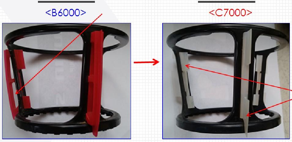 Cần gạt xoay vòng của máy ép Kuvings C7000